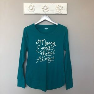 Old Navy | Merry Everything & Always Long Sleeve